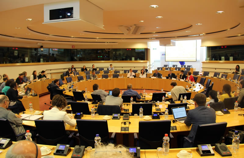 IoBee at the Bee Week 2018 at the European Parliament