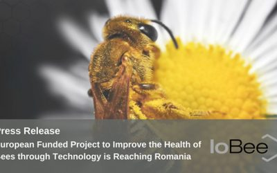 Press Release – European Funded Project to Improve the Health of Bees through Technology is Reaching Romania