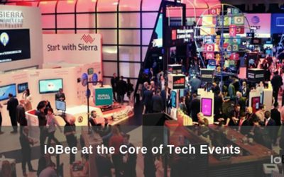 IoBee at the Core of Tech Events